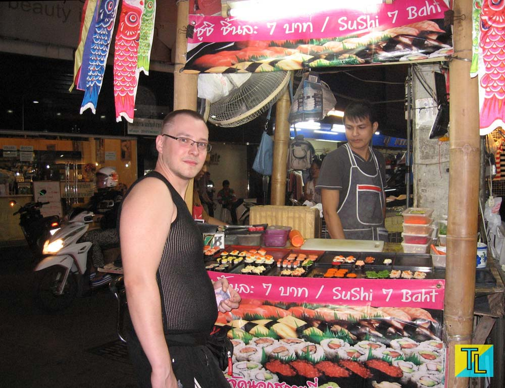 Sushi in pattaya