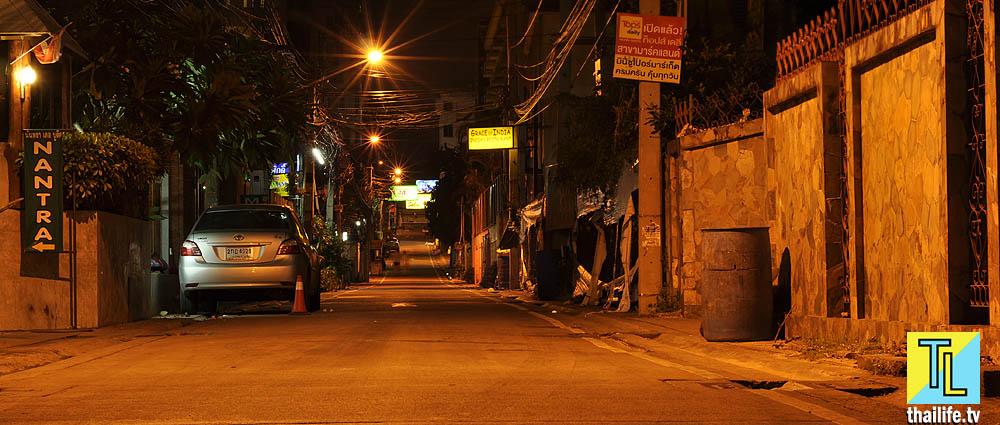 Переулок в Паттайе