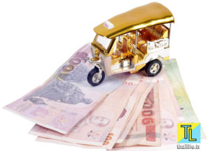 тук-тук и тайские деньги