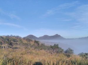 Вид на горы на Хортон