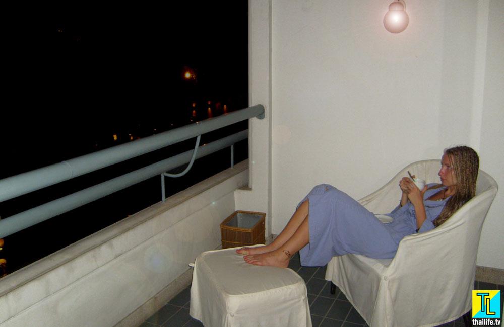 Балкон корпуса Океан