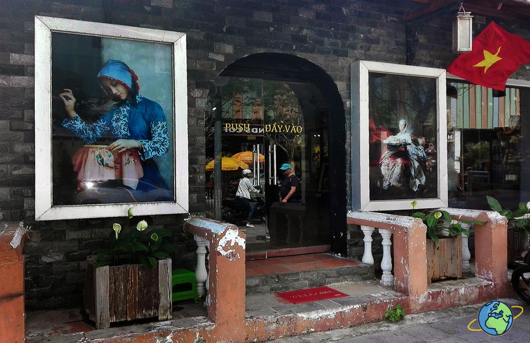 фасад галереи шелка