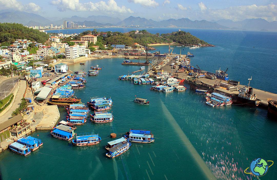 Южный порт в Нячанге